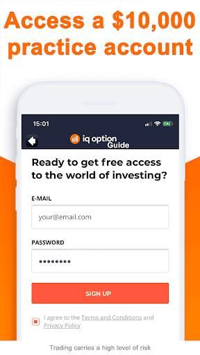 Forex Trading IQ Option Guide screenshot 3