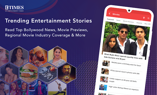 ETimes: Bollywood News, Movie Review, Celeb Gossip screenshot 1