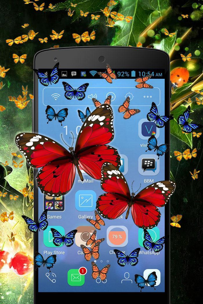 Butterfly in Phone Funny Joke screenshot 3