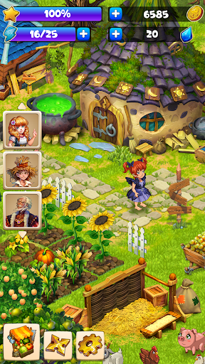 Farmdale: farming games & township with villagers screenshot 6