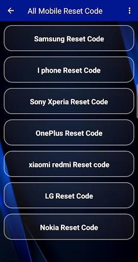 Reset Code Any Mobile and Sim Unlock Guide screenshot 2