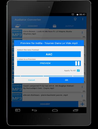 All Video Mp3 Audio Converter screenshot 20