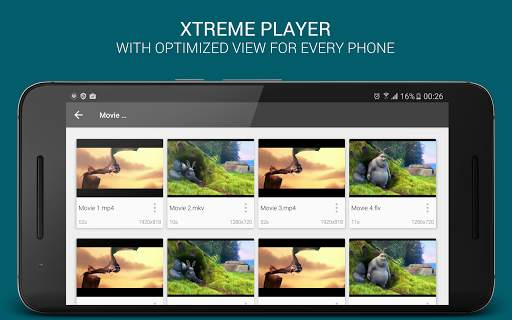XtremePlayer HD Media Player 8 تصوير الشاشة