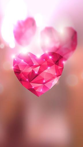 Diamond Hearts Live Wallpaper screenshot 4