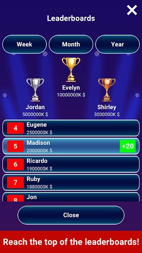 Millionaire 2021 -  Free Trivia Quiz Offline Game 5 تصوير الشاشة