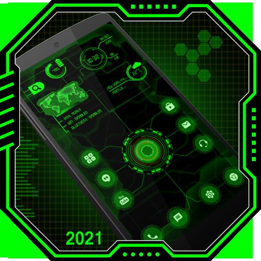 Circuit Launcher 2021 App lock, Hitech Wallpaper أيقونة