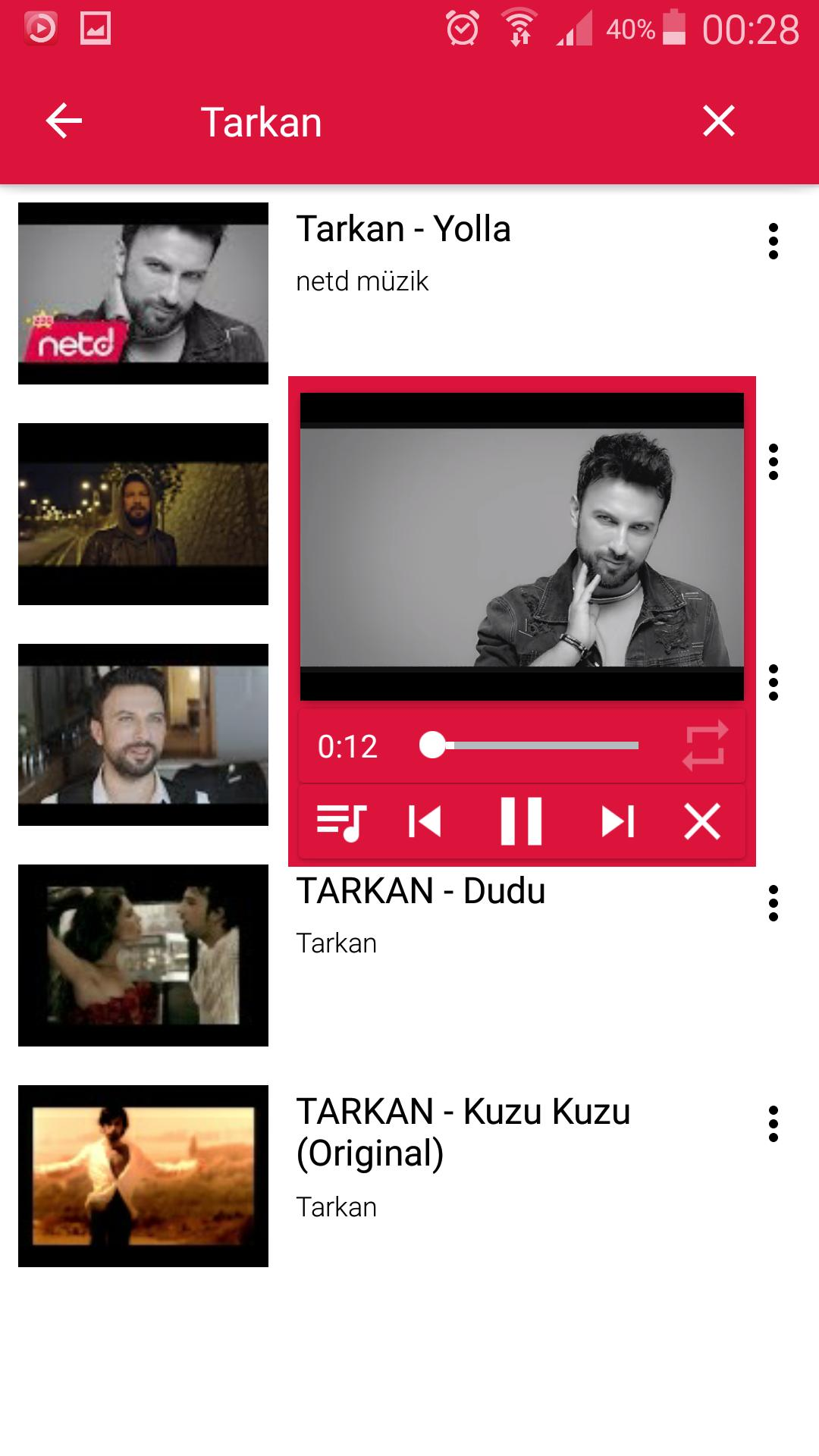 Floating IamTube Music Player screenshot 2