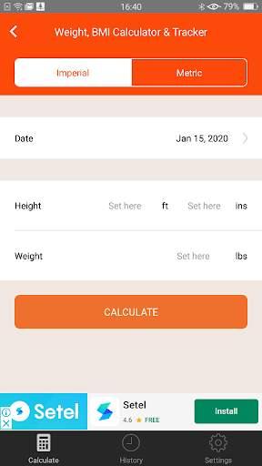 Weight Calorie Watch screenshot 2