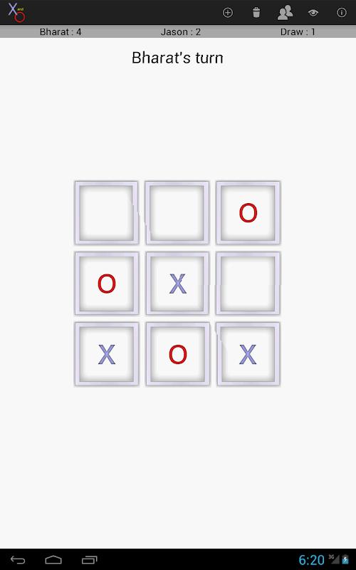 X and O screenshot 7