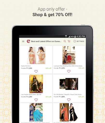 Craftsvilla - Sarees Suits Jewellery Shopping App 14 تصوير الشاشة