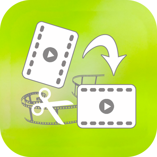 Rotate Video, Cut Video icon