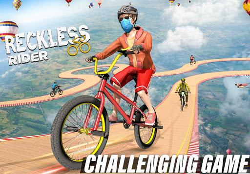 Reckless Rider- Extreme Stunts Race Free Game 2020 screenshot 5