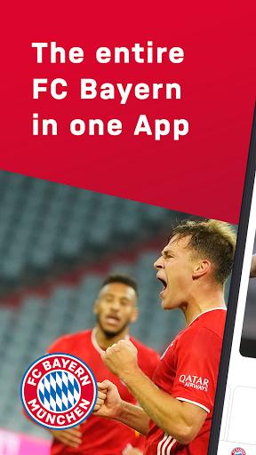 FC Bayern München - football news & live scores 1 تصوير الشاشة