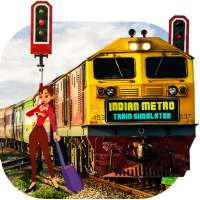 Indian Metro Train Simulator on 9Apps