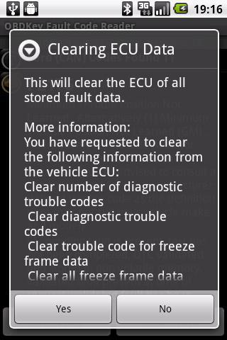 OBDKey Fault Code Reader screenshot 6