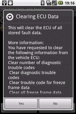 OBDKey Fault Code Reader 6 تصوير الشاشة