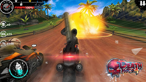 Death Moto 4 screenshot 3