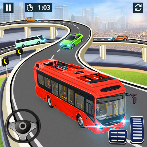 Bus Simulator Bus Game Free: PVP Games icon