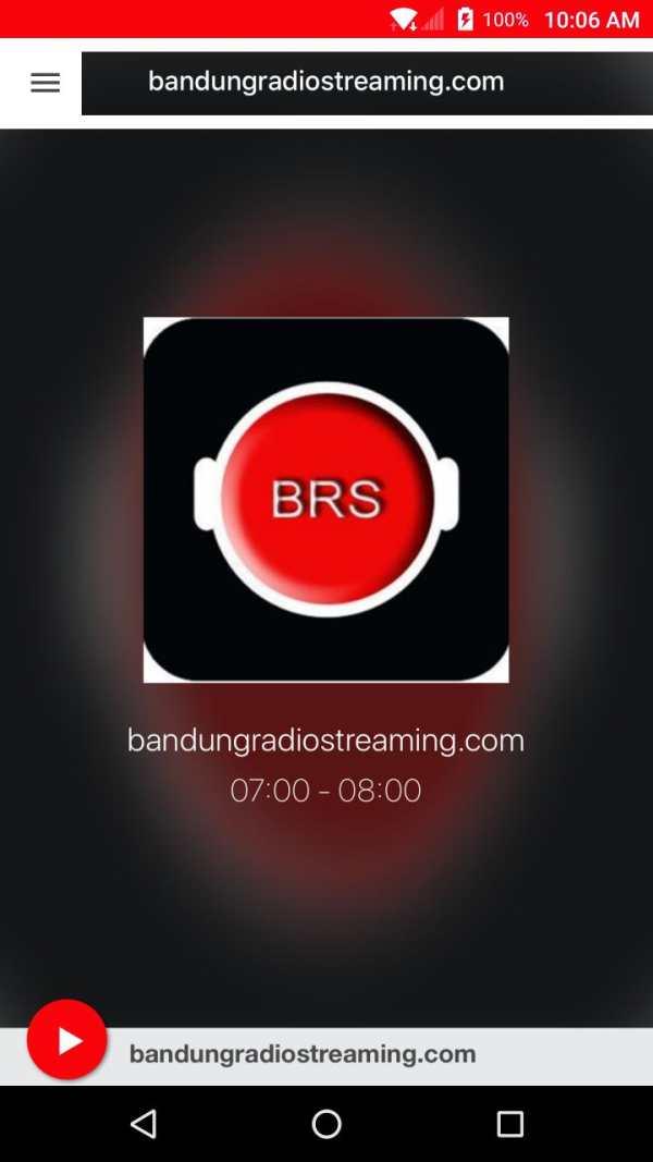 bandungradiostreaming.com screenshot 1