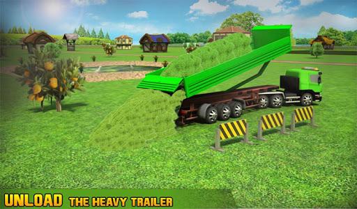 Farm Truck : Silage Game screenshot 8