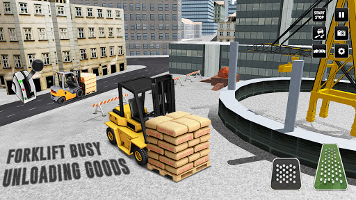 City Construction Simulator: Forklift Truck Game screenshot 6