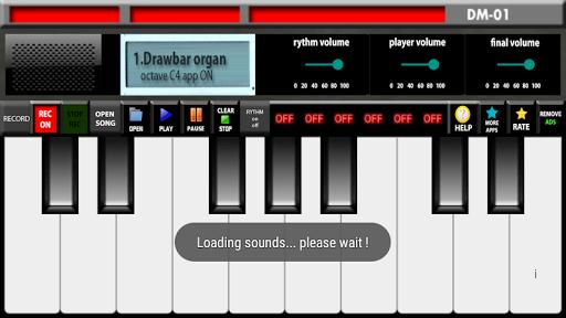 Electronic organ 1 تصوير الشاشة