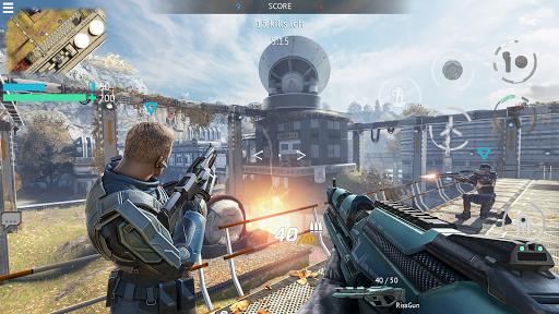 Infinity Ops: Online FPS Cyberpunk Shooter स्क्रीनशॉट 5