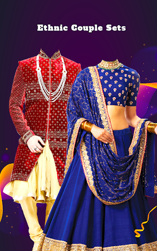 Couple Tradition Photo Suits - Traditional Dresses screenshot 1