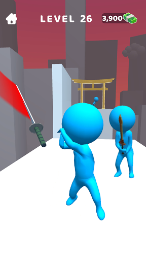 Sword Play! Ninja Slice Runner 3D screenshot 3