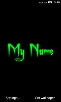 My Name Neon screenshot 1
