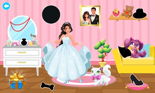 Princess Coloring Book Glitter & Girls Dress Up screenshot 7