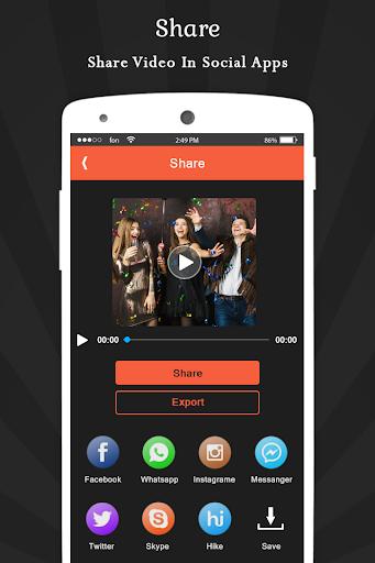 Image To Video Movie Maker - India's Editing App скриншот 8
