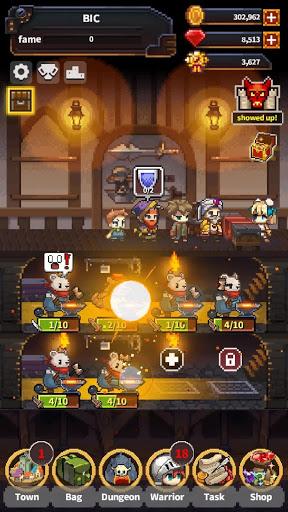 Warriors' Market Mayhem VIP : Offline Retro RPG screenshot 1