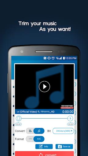 محول فيديو MP3 3 تصوير الشاشة