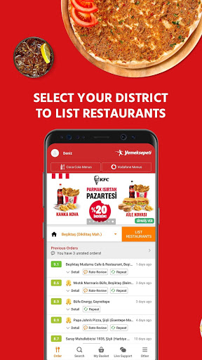 Yemeksepeti - Order Food & Grocery Easily screenshot 2