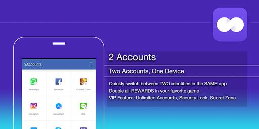 2Accounts - Dual Space & Dual Apps screenshot 5