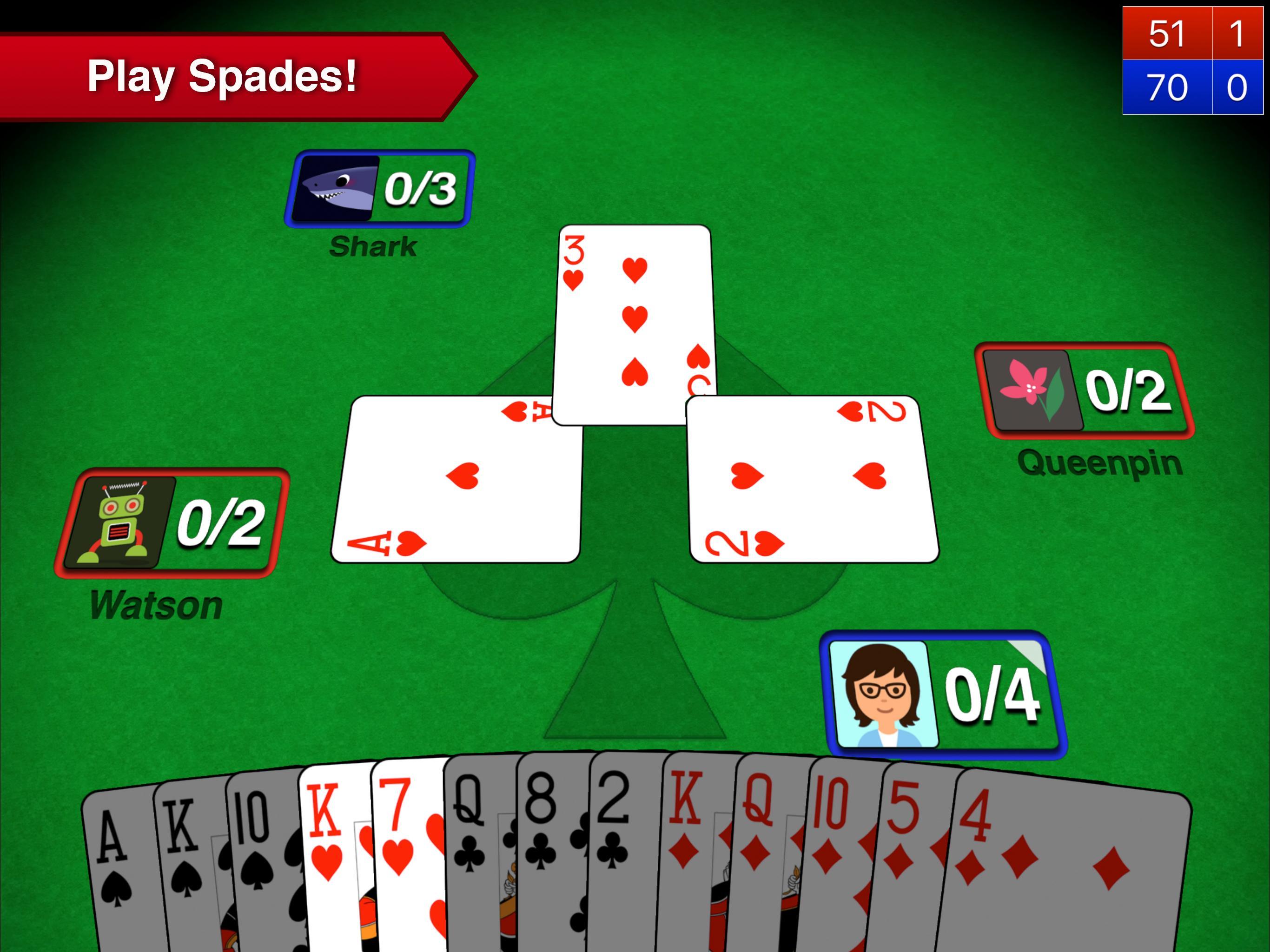 Spades + 6 تصوير الشاشة
