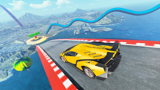 Mega Rampe Car Stunt: Autorennspiele Offline 2021 screenshot 7