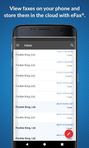 eFax: Send Fax from Phone (Official Fax App) 5 تصوير الشاشة