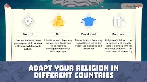 Religion inc. God Simulator & Sandbox World Create screenshot 4