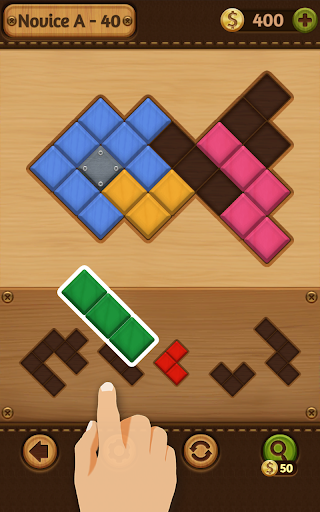 Block Puzzle Games: Wood Collection 13 تصوير الشاشة