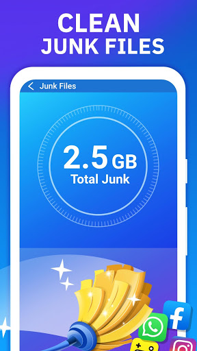 Phone Speed Booster - Junk Removal and Optimizer 5 تصوير الشاشة