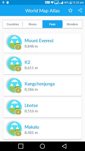 Offline World Map screenshot 3