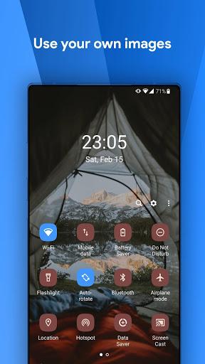 One Shade: Custom Notifications and Quick Settings screenshot 4