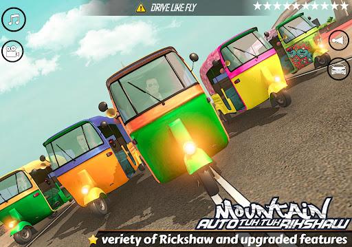 Mountain Auto Tuk Tuk Rickshaw Novos Jogos de 2020 screenshot 12