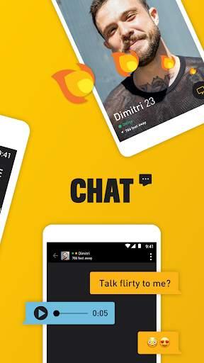 Grindr - Gay chat screenshot 1