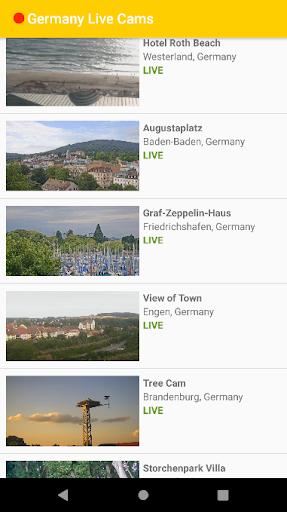 Germany Live Cams 1 تصوير الشاشة