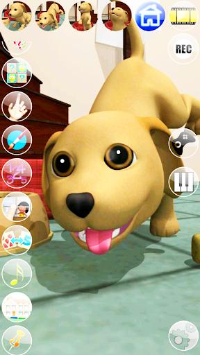 甘い話す子犬:おかしい犬 - Pet Games Free screenshot 2