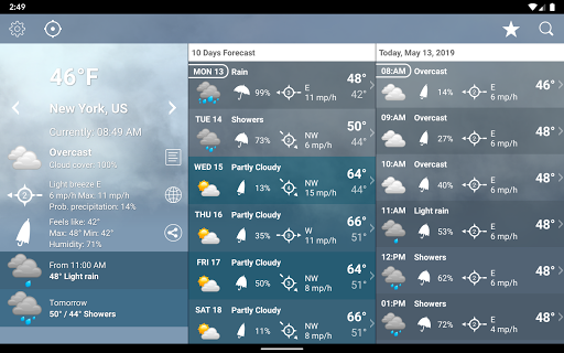Weather XL PRO screenshot 10