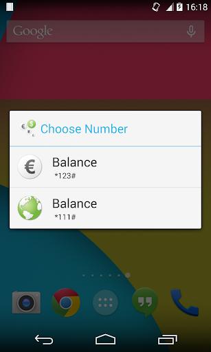 CheckBalance Widget screenshot 7